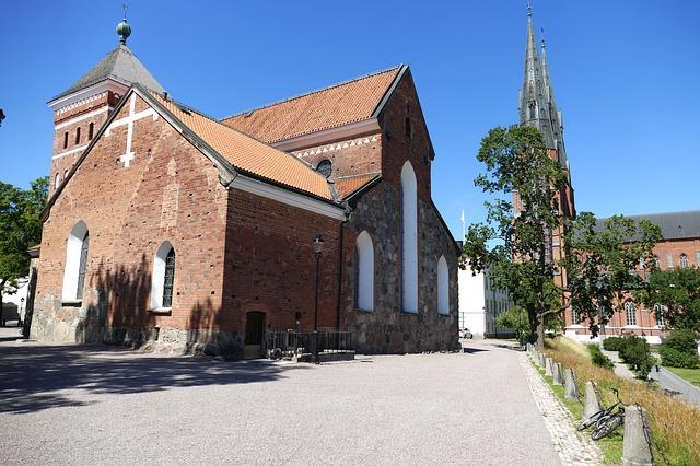 Trevliga byggnader i Uppsala och Sverige